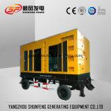 El primer móvil de 250 kVA 200kw de potencia eléctrica tipo remolque Generador Diesel