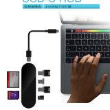 Cubo do tipo C T900 MacBook OTG Leitor de cartão leitor de cartões do tipo C