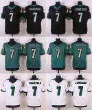 Mens 여자의 아이 유아 필라델피아 이글스 #7 Ron Jaworski 7개의 Sam Bradford 엘리트 검정 녹색 백색 미식 축구 Jerseys, 관례 어떤 이름 어떤 수