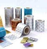 包装のために使用される薬剤か薬効があるアルミホイル