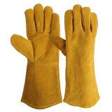 """14"""" Перчатки безопасности работы тумака предохранения длинние для деятельности заварки"""