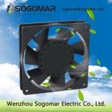 Sf12025 охлаждения вентиляционные пластиковые лопасти осевых вентиляторов переменного тока