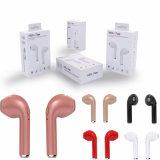 Auriculares estereofónicos biauriculares Bluetooth V4.2 do fone de ouvido sem fio de Hbq I7 Tws
