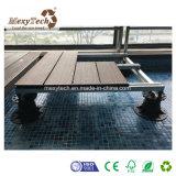 Постамент Decking напольной дешевой алюминиевой пластмассы рамки регулируемый