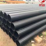 ERW材料の構築の黒によって電流を通される鋼管