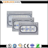 Lumen élevé 3 ans de la garantie 85-265V IP66 de projecteur de l'aluminium 130lm/W DEL pour la lumière de stationnement avec Ce/EMC/RoHS