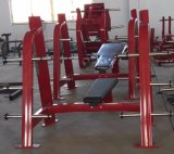 Equipos de gimnasio/Equipos de fitness banco plano olímpico