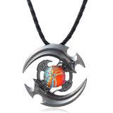 Ювелирные изделия ожерелья Tri Gemstone гироскопа напальчника игрушки фокуса перста обтекателя втулки руки непоседы привесные