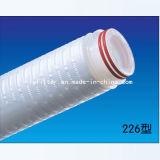 Cartuccia di filtro pieghettata membrana dal 1 micron pp 10 pollici 20 pollici 30 pollici 40 pollici