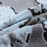 Мягкой ткань софы жаккарда ощупывания покрашенная пряжей (yf09-18)