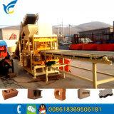 판매를 위한 압축 유압 Qt4-10 자동적인 지구 벽돌 기계 또는 찰흙 벽돌 기계