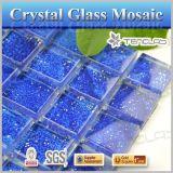 Ceramiektegels van de Tegels van het Mozaïek van het Glas van het Kristal van Foshan de Blauwe voor Zwembad