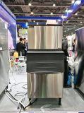 Máquina de hielo comercial del cubo para la etiqueta de plástico de América