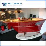 La parte superior de acrílico Diseño Solid Surface Wine Bar Contador (TW-154)