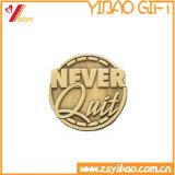 Pin del foglio placcato oro di promozione per i regali (YB-MP-57)