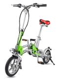 12 polegadas colorido e dobragem de bicicletas de aluguer de bateria de lítio