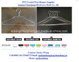 Горячие окунутые гальванизированные вешалки провода для прачечного