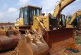 Il macchinario di costruzione originale utilizzato del Giappone 20 tonnellate ha seguito il bulldozer del cingolo del gatto D7g del trattore