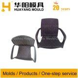 Cadeira de vime de plástico do molde (HY072)