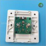 Art-quadratische Kontaktbuchse-elektrische Kontaktbuchse-Plastikkontaktbuchse-Wand-Kontaktbuchse der Wand A8 Fernsehapparat-Kontaktbuchse-zwei