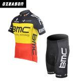 Conception personnalisée de l'usure de vélo de course Pas de minimum pour l'équipe / Club