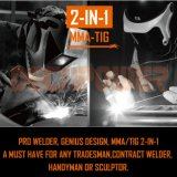 PRO 120AMP machine de soudure d'inverseur de Multi-Procédé de TIG de levage de l'arc MMA