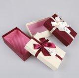Personalizar el embalaje de chocolate de alta calidad caja de regalo con papel