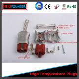 Conetor industrial elétrico do plugue masculino