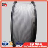 Alambre Titanium elevado de Aws A5.16 Erti-1 MIG de la pureza para la soldadura