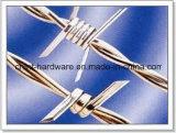 良質の電流を通されたとげがある鉄ワイヤー
