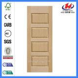 チークの木製の戸枠のハイデラバードのチーク木製フレームのベニヤのドア