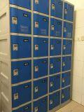 Heißer verkaufender doppelter Reihe-Speicher-Schließfach-Schrank (LE32-6)
