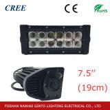 7.5'' a corto cree Barra de luces LED de vehículo de remolque (GT31001-36W)