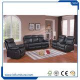 Posto unico comodo di cuoio stabilito della mobilia del sofà americano domestico di disegno