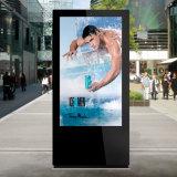 Высокая яркость рекламируя индикацию LCD оборудования напольную