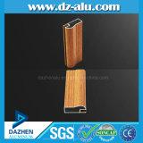 Perfil de alumínio de Líbia para a cor de madeira da grão do gabinete de cozinha da casa