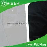 Fermeture éclair étanche aux poussières de promotion PEVA en plastique noir personnalisés adaptés à couvrir non tissé Sac de Voyage Sac de vêtement