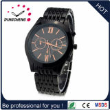 Luxury Watch Black Dial Face Genuine Leather Three Hands Watch Custome Logo Signal Quality (DC-1284)