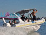 Liya 3.3m8.3m Boot van de Boot van de Rib van de Glasvezel de Stijve Opblaasbare