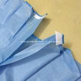 Четыре связей одноразовые усиленные стерильные хирургические платье для врача
