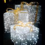 Boîte cadeau de décoration d'éclairage LED LED Festival des lumières décoratives pour Shopping Mall