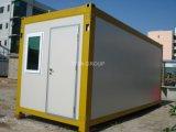 Hogar del envase de la estructura de acero/casa portable de la venta caliente/casa modular