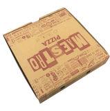 Farben-gewölbter Nahrungsmittelkasten Soem-Brown für das Pizza-Verpacken