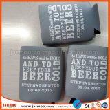 De promotie Goedkope Gedrongen Houders van het Bier van het Neopreen met Afgedrukte het Merk van de Douane
