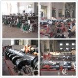 PP de HDPE de reciclaje de los chips de la máquina de granulación