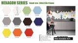La serie hexagonal de pequeño tamaño, azulejos de porcelana de color puro
