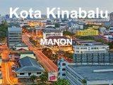 Bon marché de service de logistique d'expédition de Guangzhou à Kota Kinabalu