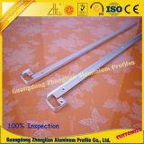 Garniture d'alimentation d'usine de tuiles Profil en aluminium pour la décoration de plancher