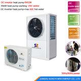 Moins de 25c Zone froide Salle de chauffage par 55c l'eau chaude 10kw/15kw/20kw/25kw de l'eau de saumure à l'eau source de masse de la pompe à chaleur msme