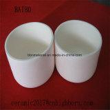 Elevada dureza 99%Al203 crisol de cerámica
